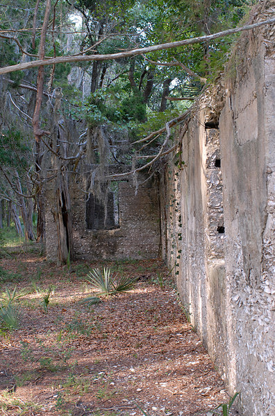 26 Slave Quarters and Distillery and Two Secondary Buildings or Sugar Mill ruins in the Thicket in McIntosh County, Georgia Carnochan Area