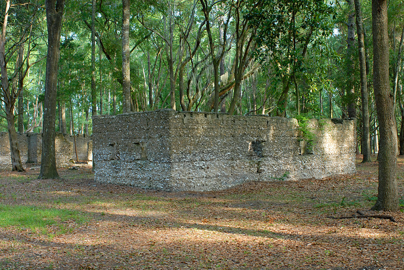 05 Slave Quarters and Distillery and Two Secondary Buildings or Sugar Mill ruins in the Thicket in McIntosh County, Georgia Carnochan Area