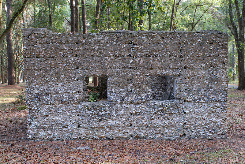 09 Slave Quarters and Distillery and Two Secondary Buildings or Sugar Mill ruins in the Thicket in McIntosh County, Georgia Carnochan Area