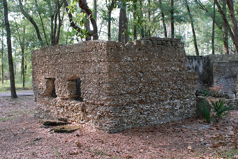 13 Slave Quarters and Distillery and Two Secondary Buildings or Sugar Mill ruins in the Thicket in McIntosh County, Georgia Carnochan Area