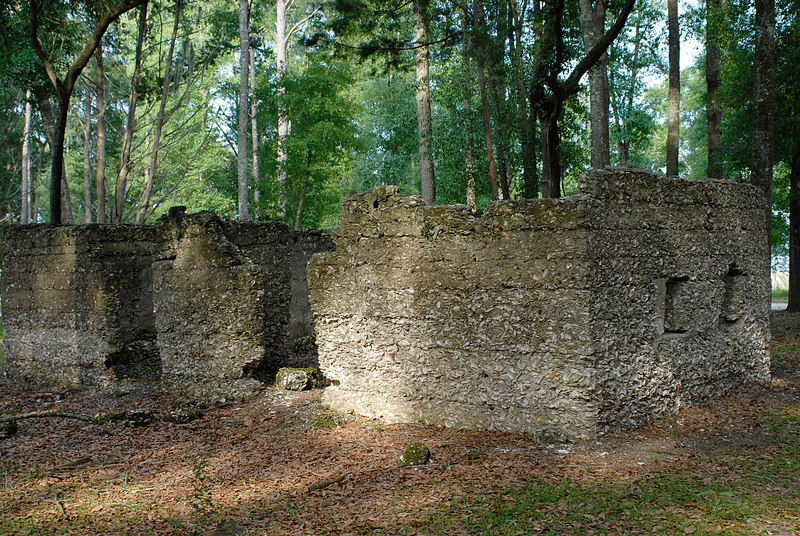 14 Slave Quarters and Distillery and Two Secondary Buildings or Sugar Mill ruins in the Thicket in McIntosh County, Georgia Carnochan Area