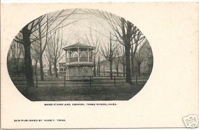 Three Rivers Band Stand