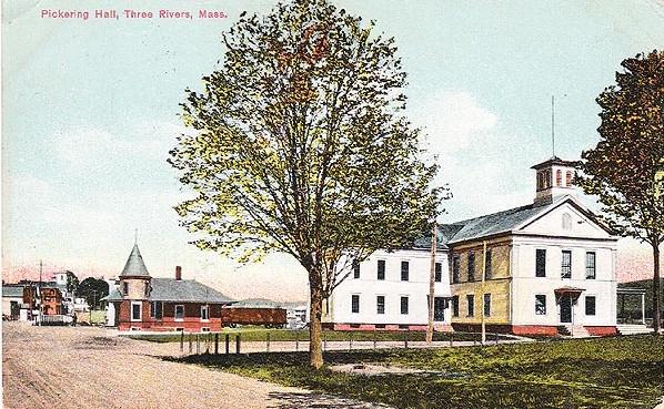 Three Rivers RR Station 1907