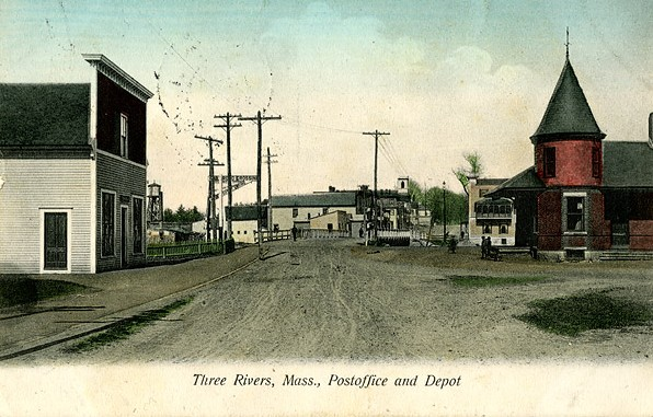Three Rivers P O & Depot