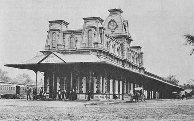 Saratoga train station, date unknown