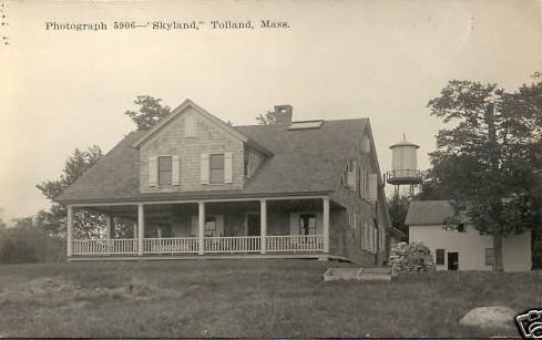 Tolland Skyland RPPC
