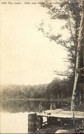 Tolland RPPC The Lake