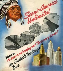 1940's Brochure, reverse side.