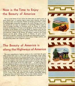 1940's Brochure, inside page.