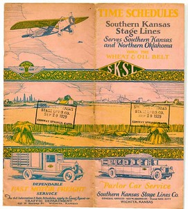 Southern Kansas Stage Lines, Sept 1929.
