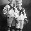 Photo courtesy of Linda Batdorff Dahl<br /> <br /> John, left, and Bob Batdorff as young boys, probably about 1920.