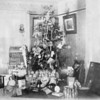 Photo courtesy Traverse Area Historical Society<br /> A 1901 photograph taken at an Eighth Street residence in Traverse City gives an idea of what a Christmas tree fully trimmed with popcorn, ornaments, cards, dolls, bowling pins, tea set, sled and other gifts looked like more than a century ago.
