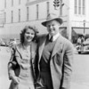 Courtesy of Linda Batdorff Dahl<br /> Maxine and Bob Batdorff at the corner of Front and Union in downtown Traverse City.