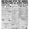 All 16 stories on the Record-Eagle's front page Dec 8, 1941 were war-related the day after the Pearl Harbor attack  including a page 1 editorial.
