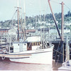 Daphne  Built 1944 Matt Tolonen  Columbia Boat  Astoria  Leonard  Haga  Howard Haataja   Pic Taken 1945 Astoria  Later  Bill  Bradshaw