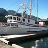 Good News  Built 1980 Sunnfjord  Jerry Schrader  Earle Johnson  Tracy Rivera  Pic Taken  Juneau  Alaska