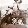 Trygve Tetli, Sept,1937,Aboard Troller  Sonja,300 Albacore this Day,