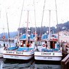 Fort Bragg  Both Built By Makela Bros  Debbie Marie Newly Launched  Condor II  1973   Pic Taken 1976  Owners  Ernest Figueiredo  Fred Makela