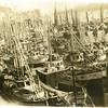1920s_BoatsTiedUpAtPioneerPacking_Cordova_trollers_gillnett