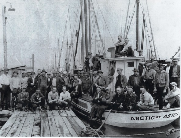 Arctic Built 1926 Seattle Owner Engvald Eide  Pictured in 1929  45  West Coast Trollers