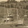 Baltic Sea  1975 Launching  Gold Beach Oregon  Builders Freeman  Howard  Owner Elmer Hedberg