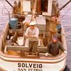 Solveig  Built 1948 Cummins Tacoma  John Baade Art Baade Joanne Badde  Heide Baade  1970