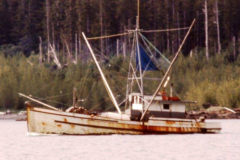 Stamsund  Built 1917 Tacoma  Howard Red  Rawley  Lituya Bay Alaska