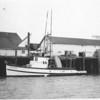 Welcome,Built 1907 By H W Starrett  Ballard,Milo Moore,A Langston,Louis Pieper,John Powell,Eureka,Humboldt Bay Fisheries,Pic Taken 50's,
