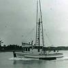 Spawn Built 1946 Tacoma Boat  Adolph Olson Pic Taken Eureka 1950's