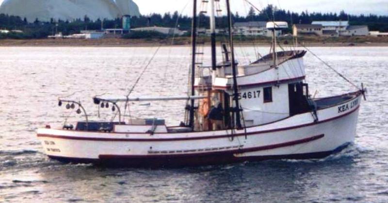 Sea Bee  Kea Lynn  Built 1948 Alf Hansen Seattle  Parr Reese  Walter Jensen  Richard Duarte  Tom Hanlon  Steven  Counselman