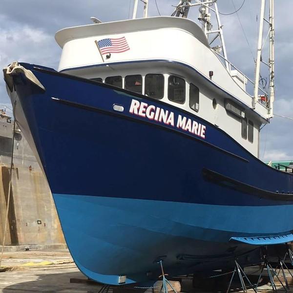 Regina Marie  Built San Carlos Later Mary Helen   Built 1970 San Carlos Calif Henry Seymor Jr David Myking  Robert Silva  Harvey Zoon  tuna crab