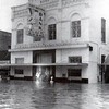 1964 photo of downtown flood