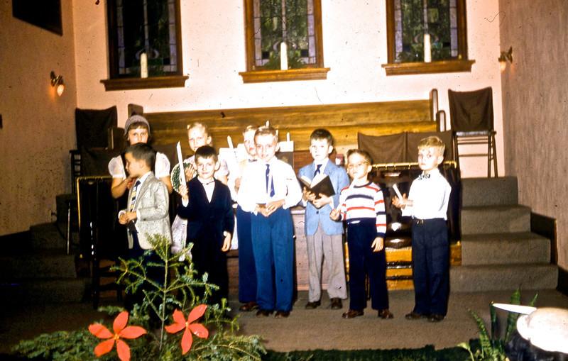 Sunday School Program<br /> (Photo by Millie C. Shaffer)