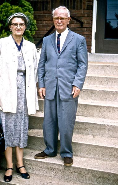 Dr. & Mrs. C. E. Molden<br /> (Photo by Millie C. Shaffer)