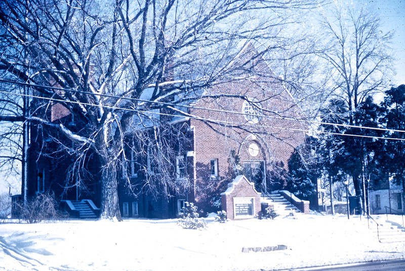 Troy United Presbyterian Church (1962)<br /> (Photo by Millie C. Shaffer)