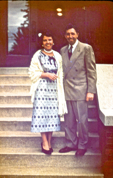 Ollie & Delores Chumchal<br /> (Photo by Millie C. Shaffer)
