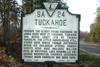 Tuckahoe c. 1733