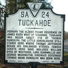 Tuckahoe is a working plantation that includes a circa-1733 house, the school house where Thomas Jefferson studied as a youth.
