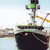 Donna B,Built 1975 Wilmington,James Bunn,Unloading Pan Pacific,