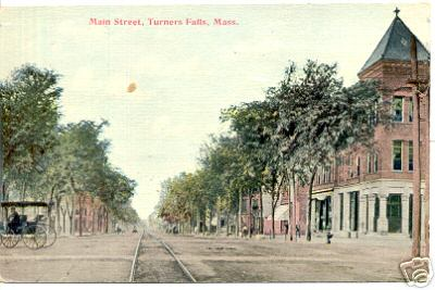 Turners Falls Early Main St