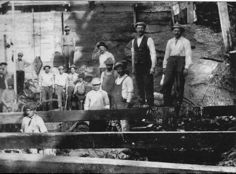 Turners Falls 1912 Construction