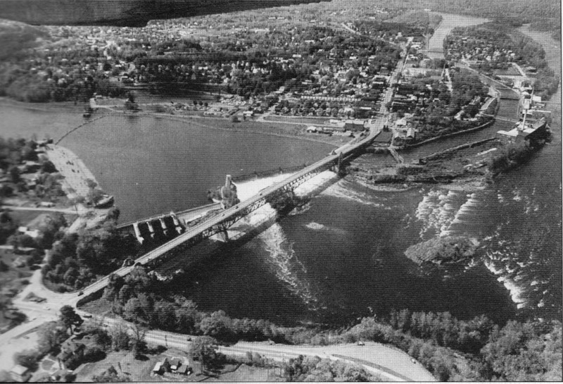Turners Falls 1969 View Bridge