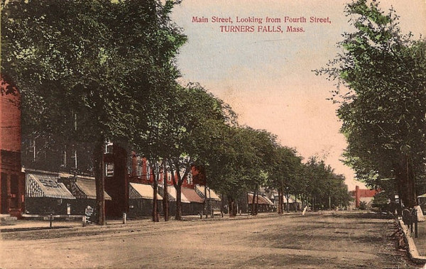Turners Falls Main St from 4th St