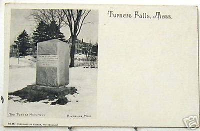 Turners Falls Turner Monument