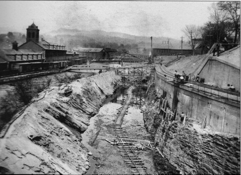 Turners Falls 1913Power Canal