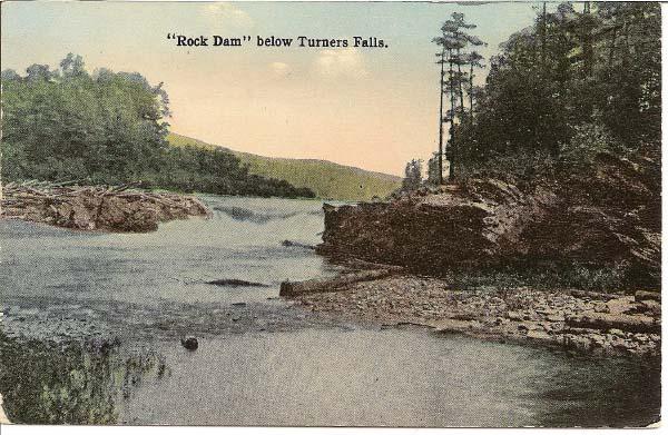 Turners Falls Rock Dam
