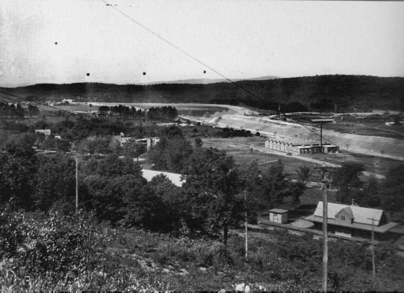 Turners Falls 1921 Turners Train Depot