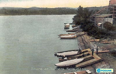 Turners Falls River Shore