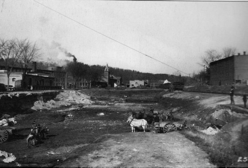 Turners Falls 1904 Excavating 3