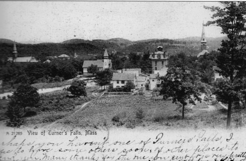 Turners Falls 1906 View